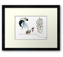 What I gave to you Framed Print