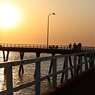 Sunset Derby Pier. by glenlea