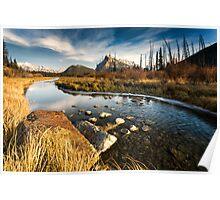 Vermilion Lakes, Banff Poster