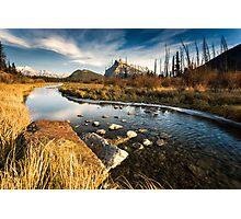Vermilion Lakes, Banff Photographic Print
