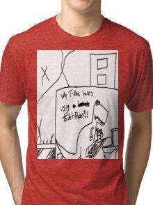 Why T-rex Hates Series 1 Tri-blend T-Shirt