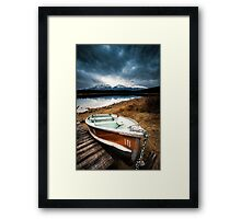 Row Boat, Patricia Lake  Framed Print