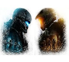 Halo 5 Guardians Photographic Print