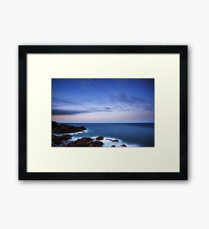 Sunset Dusk, Port Macquarie Framed Print