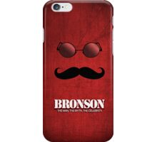 Charles Bronson Red  iPhone Case/Skin
