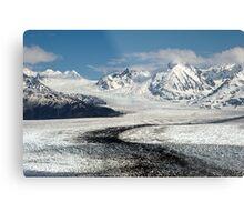 Knik Glacier Metal Print