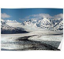 Knik Glacier Poster