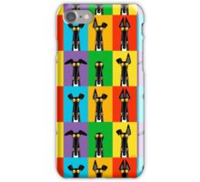 Greyhound Semaphore iPhone Case/Skin
