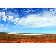 Salt Lake South Australia Photographic Print