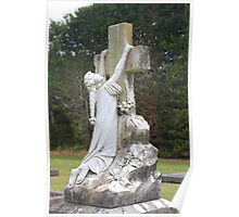 Angel headstone Poster