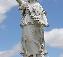 Angel headstone by HJRobertson