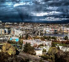 Very bad & overcast day in Portland by Gerard Rotse