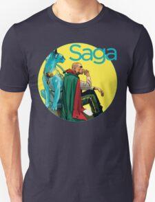Saga Comic The Will and Lying Cat T-Shirt
