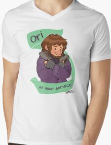 Ori at Your Service Mens V-Neck T-Shirt