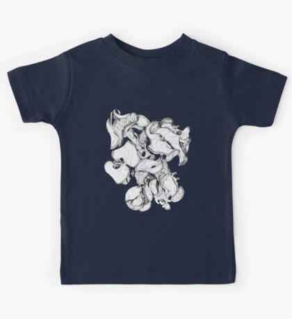 Wattle fruits 1 (Pen and Ink) Kids Tee