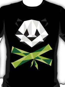 Panda and Crossbamboos (Dark) T-Shirt