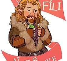 Fíli at Your Service by HattieHedgehog