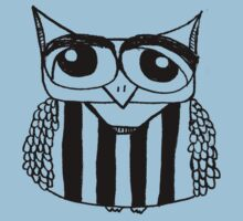 Footballer Owl One Piece - Short Sleeve