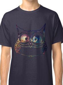 Coloured Freakout Owl Classic T-Shirt