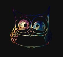 Coloured Freakout Owl Unisex T-Shirt