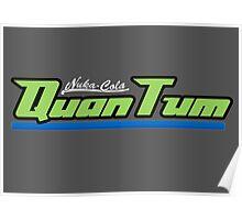 Nuka Cola Quantum logo Poster