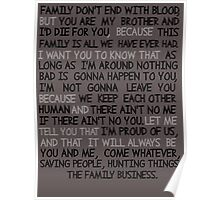 SPNQUOTES Poster
