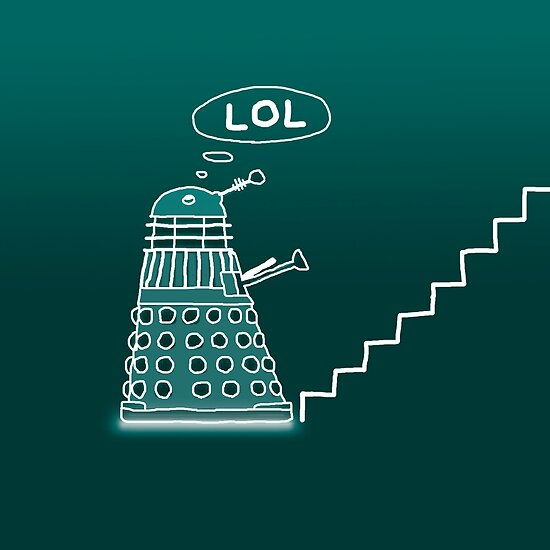 Daleks Love Stairs! by BlueShift