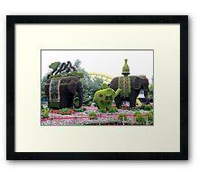Topiary, Hangzhou, Zhejiang Framed Print