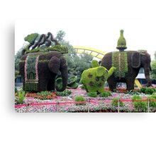 Topiary, Hangzhou, Zhejiang Canvas Print