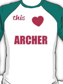 This Girl Loves Her ARCHER T-Shirt