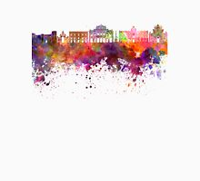 Catania skyline in watercolor background Unisex T-Shirt