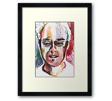 Talking about love Framed Print