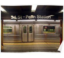 Subway, NYC Poster
