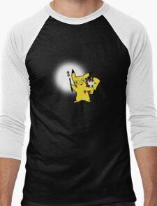 Potterchu Men's Baseball ¾ T-Shirt
