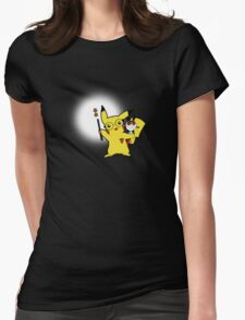 Potterchu Womens Fitted T-Shirt