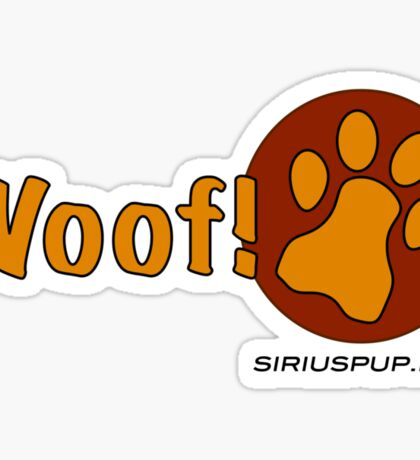 Woof! Sticker