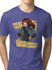 Kíli at Your Service Tri-blend T-Shirt