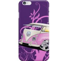 Splitty Floral Purple iPhone Case/Skin