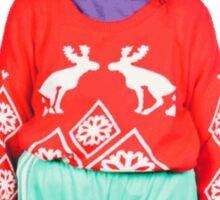 Christmas Miranda Sticker