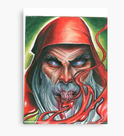 Red Wizard Canvas Print