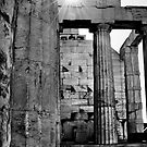 Sun Over the Acropolis by A. Duncan