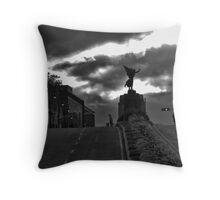 Sherbrooke statue Throw Pillow