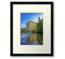 Salts Mill 2 Framed Print