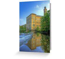 Salts Mill 2 Greeting Card