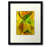 Abstract Polygons 173 Framed Print
