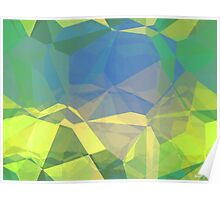 Abstract Polygons 187 Poster