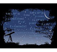 Formulas Matter Photographic Print