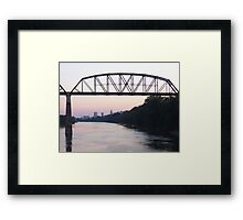 Down the Cumberland Framed Print
