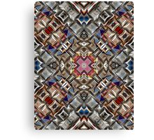 Abstract Geometric Surface Canvas Print