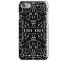 Silver lines iPhone Case/Skin